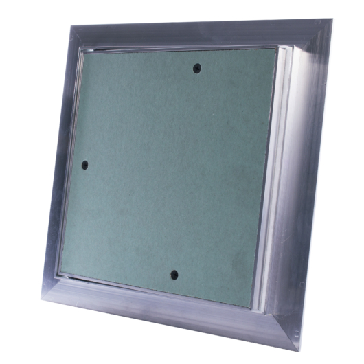 Impregnált gipszkarton betétes szerelőajtó, 200x200 mm