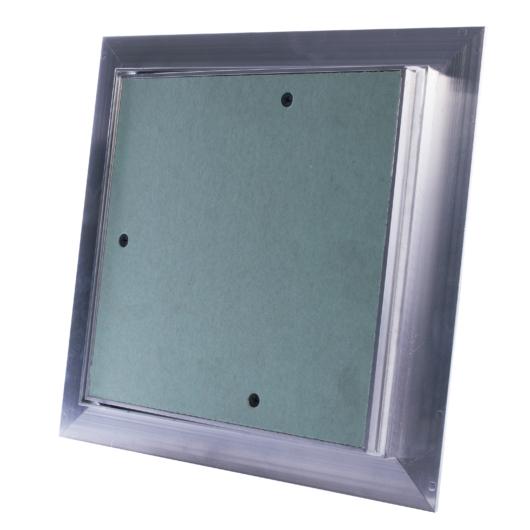 Impregnált gipszkarton betétes szerelőajtó, 400x400 mm